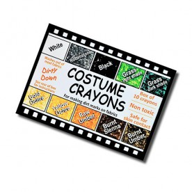 DIRTY DOWN COSTUME CRAYONS